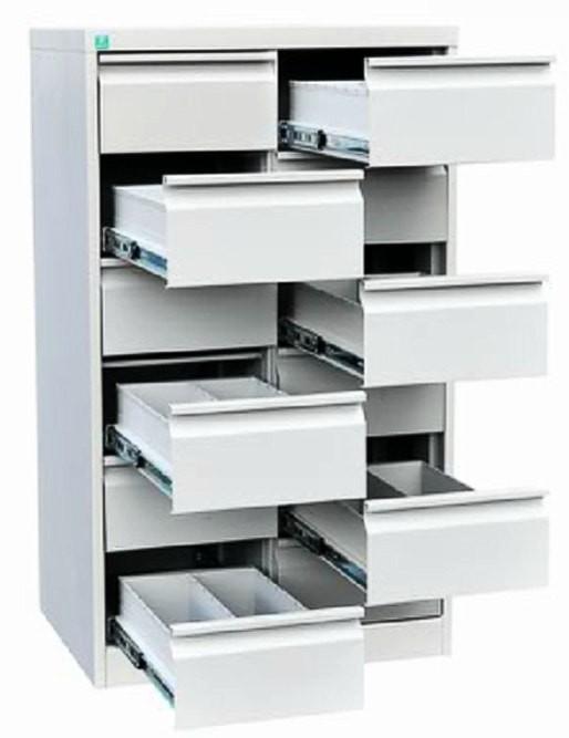 Металлический картотечный шкаф ШК-12