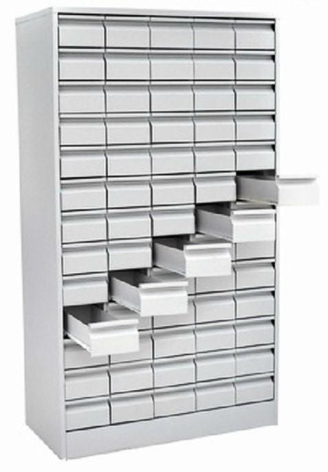 Металлический картотечный шкаф ШК-65-карт