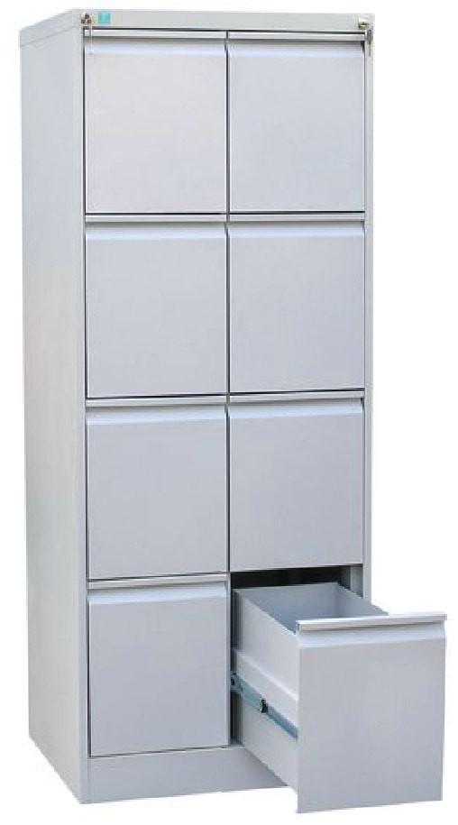 Металлический картотечный шкаф ШК-8-A4