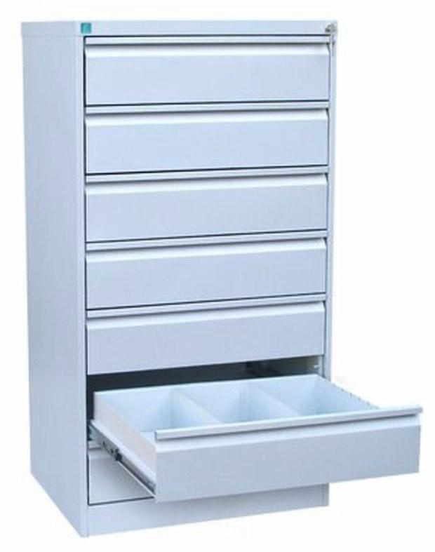Металлический картотечный шкаф ШК-7-3