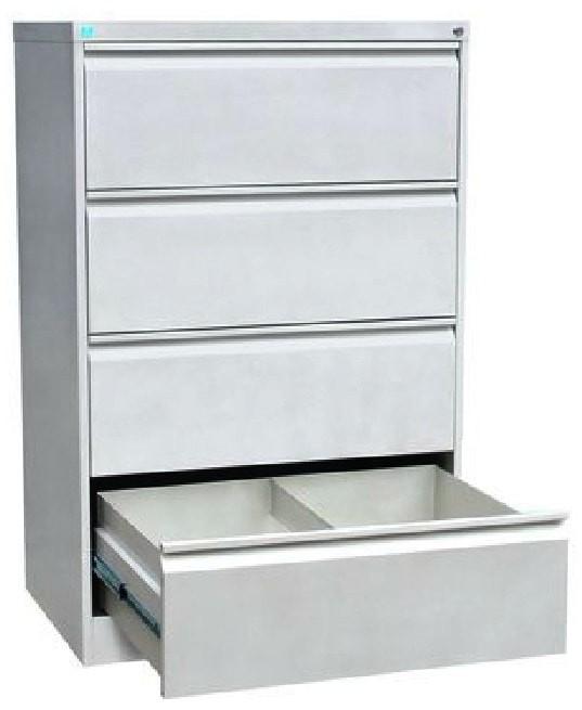 Металлический картотечный шкаф ШК-4-2