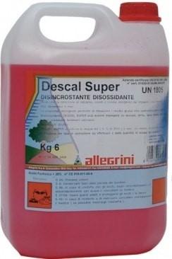 Средство для удаления ржавчины и минеральных отложений ALLEGRINI DESCAL SUPER