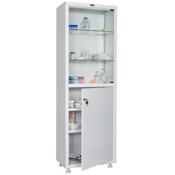 Шкаф медицинский, лабораторный металлический Практик MED 1 1760/SG