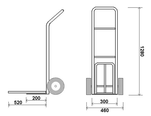 КГ 150 П — Грузовая тележка