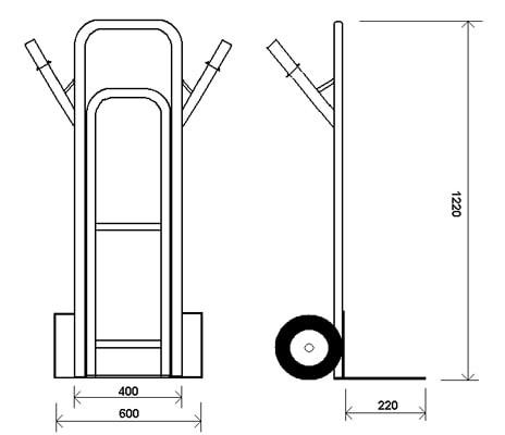КГ 350 — универсальная тележка