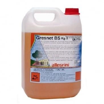Моющее средство для уборки полов с пористыми покрытиями ALLEGRINI GRESNET BS