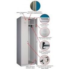 Шкаф для одежды металлический стандартный ШРК 22-600
