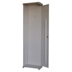 Модульный металлический шкаф для одежды ШРС 11дс-400