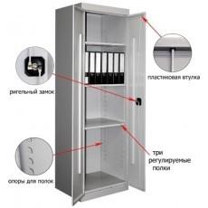 Архивный металлический шкаф ШХА-850(40)