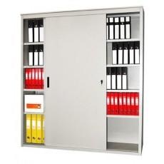Металлический архивный шкаф-купе AL-2012
