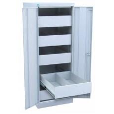 Металлический картотечный шкаф ШК-5-Д2