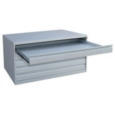 Металлический картотечный шкаф ШК-5-A0