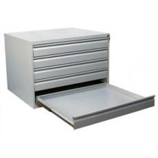 Металлический картотечный шкаф ШК-5-A1