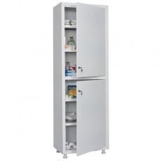 Шкаф медицинский, лабораторный металлический Практик MED 1 1760/SS